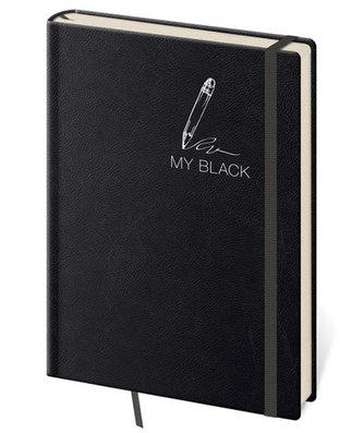 Stil trade - Zápisník My Black - linkovaný M