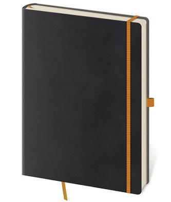 Stil trade - Zápisník Flexies Black - S tečkovaný