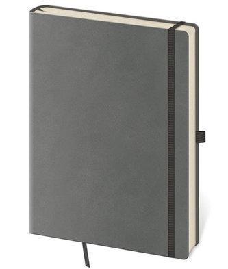Zápisník Flexies Grey - S linkovaný - neuveden