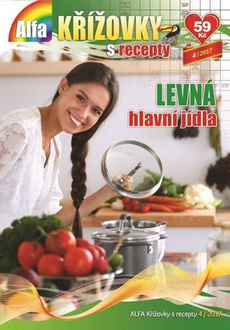 Křížovky s recepty 4/2017 - Levná hlavní jídla - neuveden