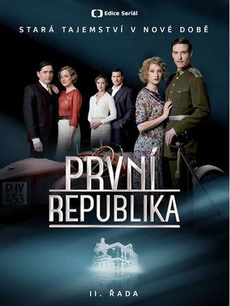 Edice České televize - První republika II. řada - 4 DVD