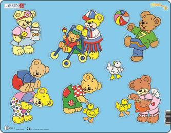 Puzzle MAXI - Medvídek Teddy/10 dílků - neuveden