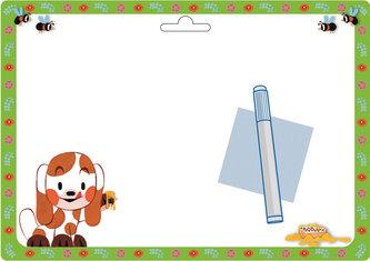 Akim - O zvědavém štěňátku - Stíratelná tabulka A4