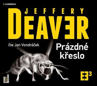 Prázdné křeslo - 2 CDmp3 (Čte Jan Vondráček) - Jeffery Deaver