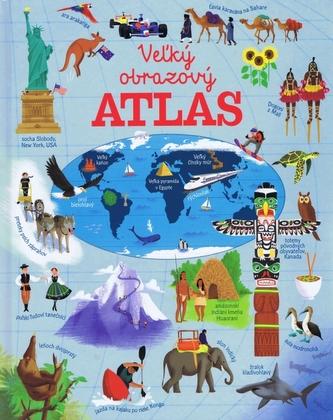 Veľký obrazový atlas sveta - autor neuvedený