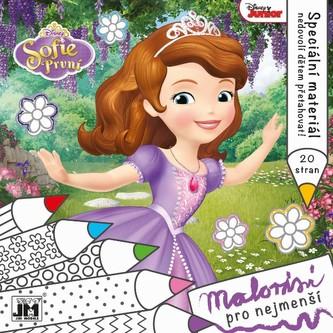 Sofie První - Omalovánky pro nejmenší - Disney Walt