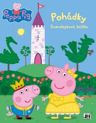 Peppa - Pohádky - Samolepková knížka - neuveden