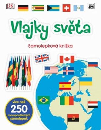 Vlajky světa - Samolepková knížka - neuveden