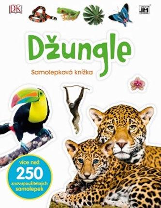 Džungle - Samolepková knížka - neuveden