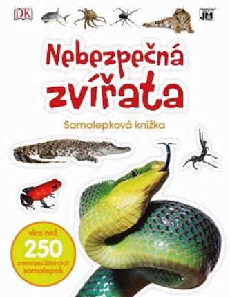 Nebezpečná zvířata - Samolepková knížka - neuveden