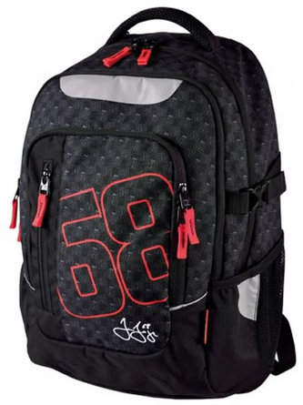 Školní batoh - Jágr 68 černý teen - neuveden