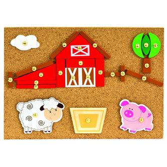 Hra s kladívkem farma