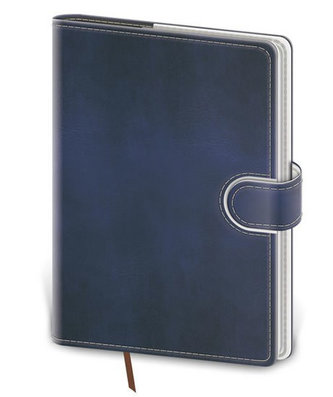 Stil trade - Zápisník Flip B6 linkovaný - modro/bílá