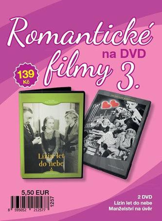 Romantické filmy 3 - 2 DVD - neuveden