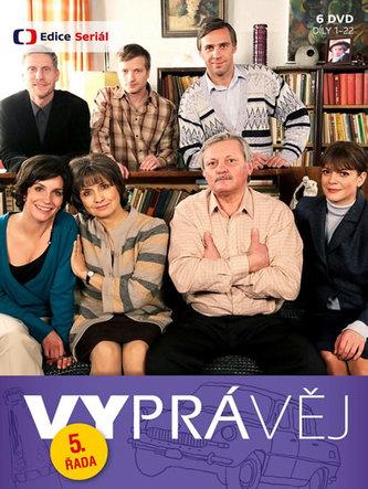 Vyprávěj 5. řada (reedice) - 6 DVD - neuveden