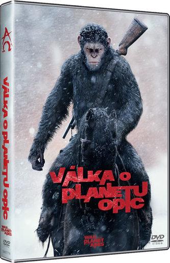 Válka o planetu opic - DVD - neuveden