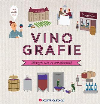 Vinografie - Poznejte víno ve 100 obrázcích - Darrieussecqová Fanny, Denturcková Mélody,
