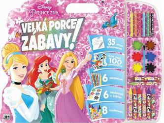 Princezny - Mega omalovánkový set - neuveden