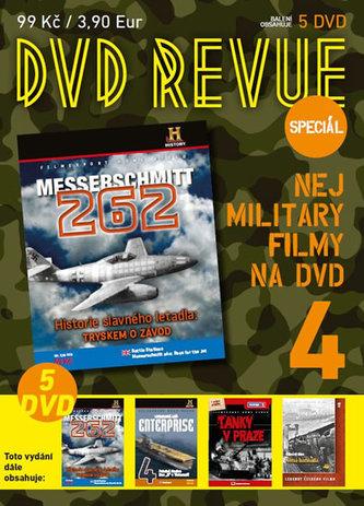 DVD Revue speciál 4 - Nej military filmy na DVD - 5 DVD - neuveden