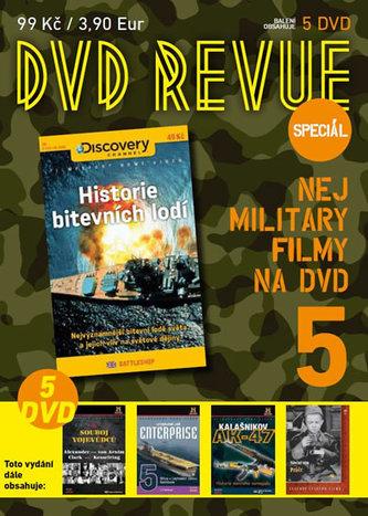 DVD Revue speciál 5 - Nej military filmy na DVD - 5 DVD - neuveden