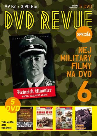 DVD Revue speciál 6 - Nej military filmy na DVD - 5 DVD - neuveden