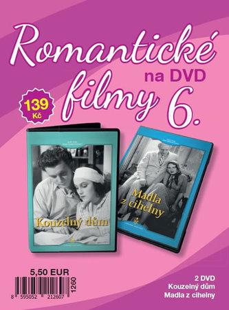 Romantické filmy 6 - 2 DVD - neuveden