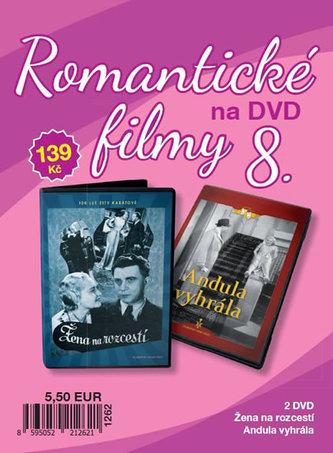 Romantické filmy 8 - 2 DVD - neuveden