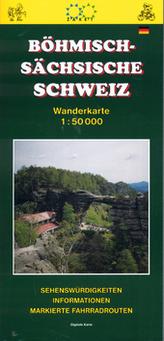 Böhmisch - Sächsische schweiz 1:50 000