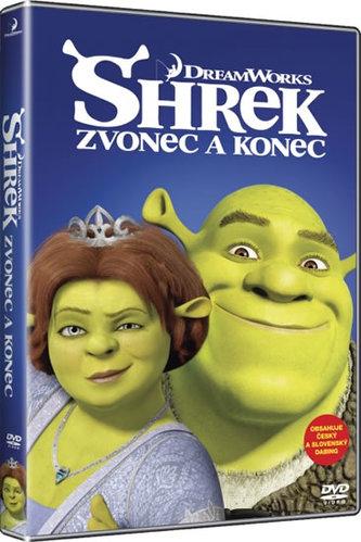 Shrek: Zvonec a konec - DVD - neuveden