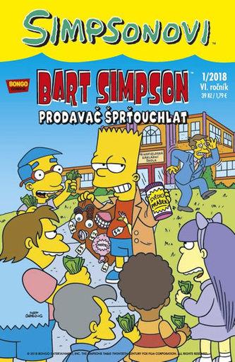 Simpsonovi - Bart Simpson 1/2018 - Prodavač šprťouchlat - Matt Groening
