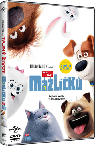 Tajný život mazlíčků DVD - neuveden