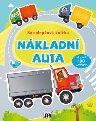 Nákladní automobily - Samolepková knížka - neuveden