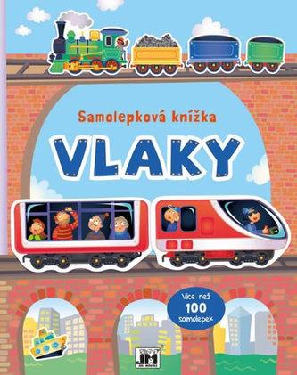 Vlaky - Samolepková knížka - neuveden
