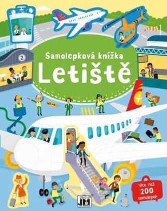 Letiště - Samolepková knížka - neuveden