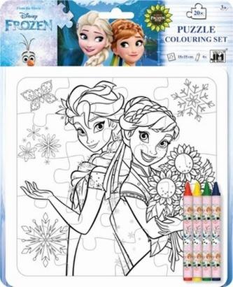 Kreativní puzzle set Ledové království