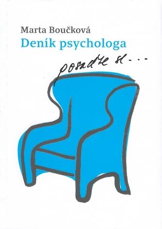 Deník psychologa - posaďte se… - Boučková Marta, Křížková Johana,