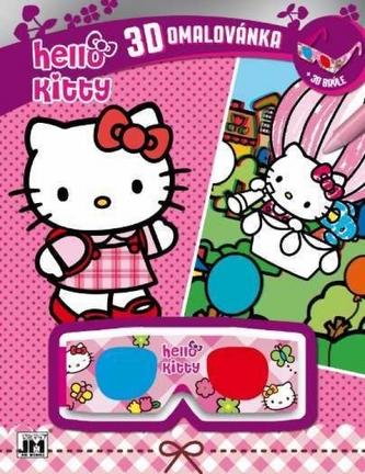 3D vymaľovanky/ Hello Kitty - Hello Kitty