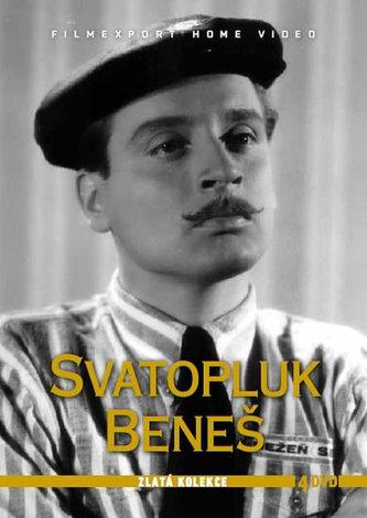 Svatopluk Beneš - Zlatá kolekce - 4 DVD - neuveden