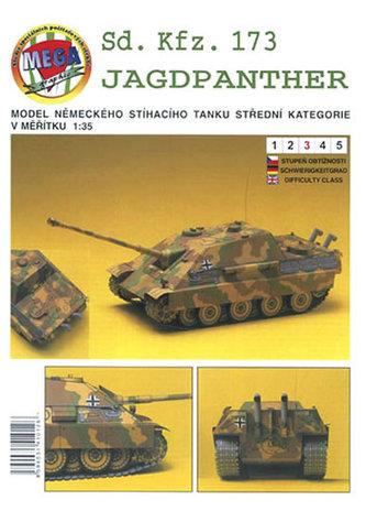 MegaGraphic - Sd. Kfz. 173 JAGDPANTHER/papírový model