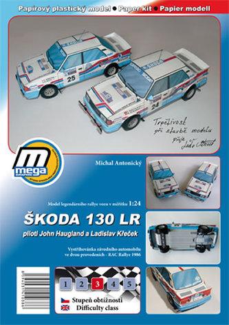 Škoda 130 LR/papírový model - Antonický Michal