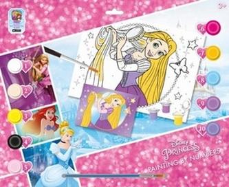 Malování podle čísel Princezny