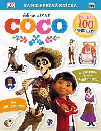 Coco - Samolepková knížka - neuveden