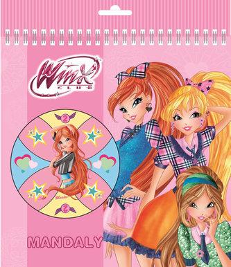 Winx club fashion - Mandaly omalovánky - neuveden