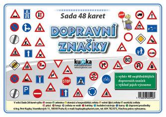 Sada 48 malých karet (A7) - dopravní značky - Petr Kupka