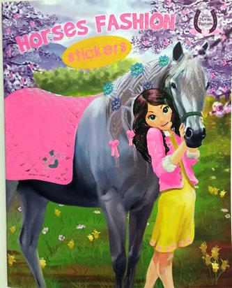 Horses Passion 4 - Milujeme koníky - Omalovánky a samolepky