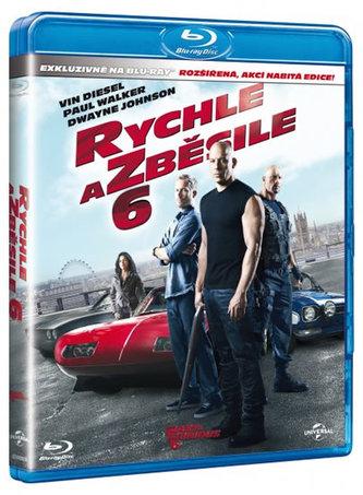 Rychle a zběsile 6 - Blu-Ray - neuveden