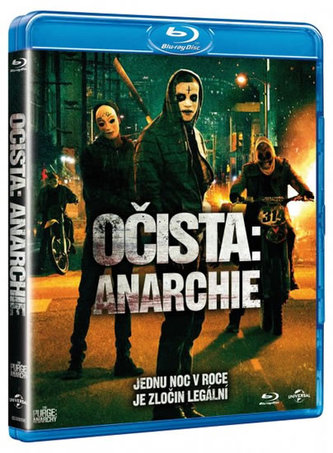 Očista: Anarchie - Blu-Ray - neuveden
