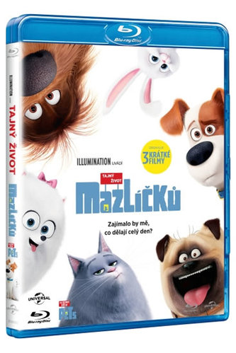 Tajný život mazlíčků - Blu-Ray - neuveden