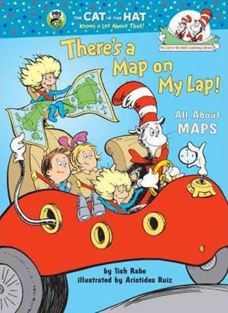 There´s a Map on My Lap! All About Maps - Rabe, Tish