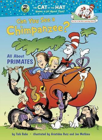 Can You See a Chimpanzee? All About Primates - Rabe, Tish